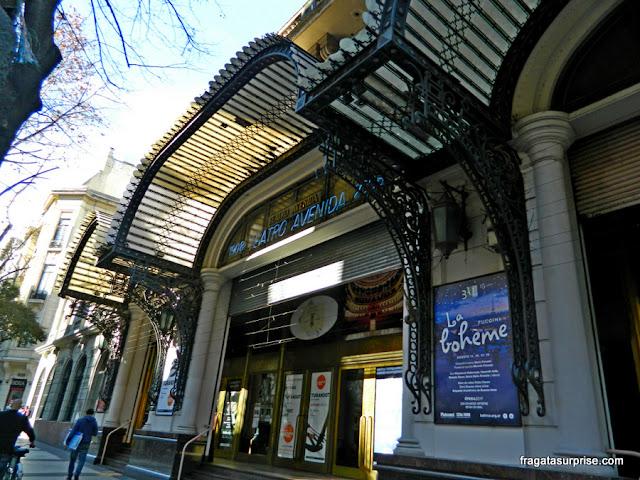 Teatro Avenida, Avenida de Mayo, Buenos Aires