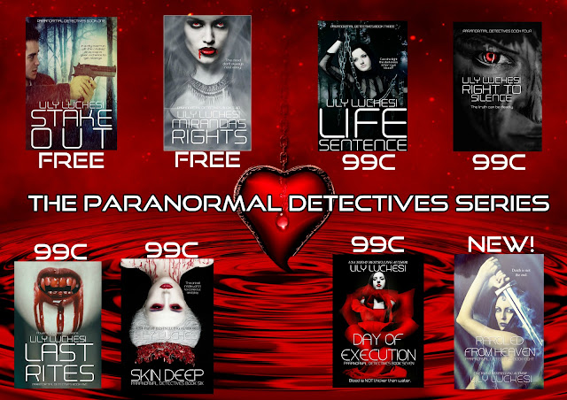 """Find he """"Paranormal Detectives Series"""" by Lily Luchesi on Amazon!"""