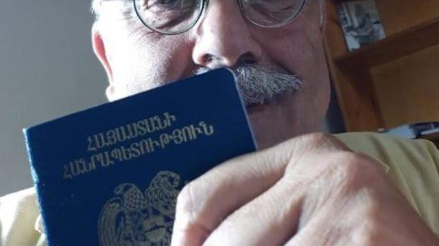 Nisanyan obtuvo la ciudadanía armenia