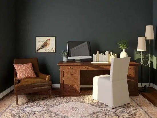 Bold paint colors for home décor for 2021-2022
