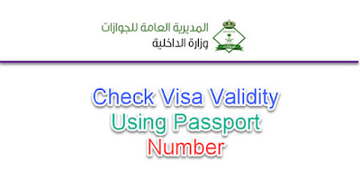 Visa Validity Check via P Number