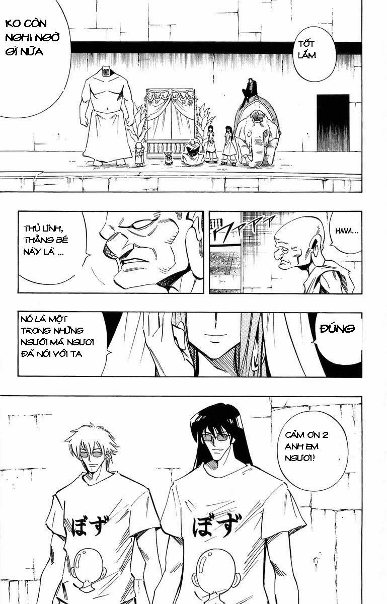 Shaman King [Vua pháp thuật] chap 227 trang 12