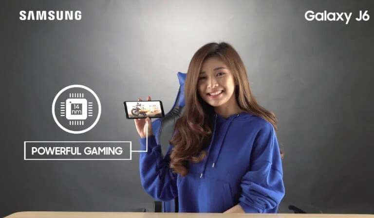 Here's Why the Samsung Galaxy J6 is the Best Gaming Gear for Bianca Yao