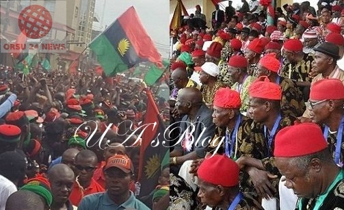 Nnamdi Kanu's Parents Burial: Don't Test Wrath Of IPOB Members – Ohanaeze Tells Nigeria Police