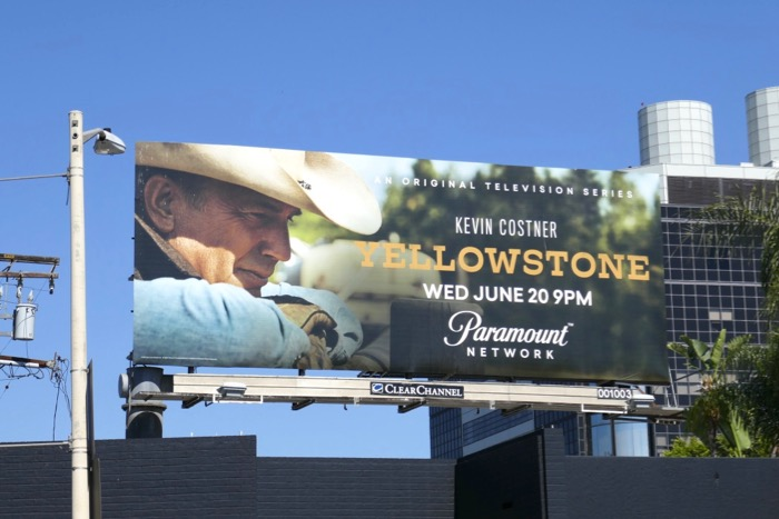 Yellowstone season 1 billboard