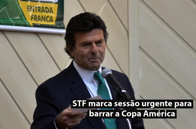 STF marca sessão urgente para barrar a Copa América