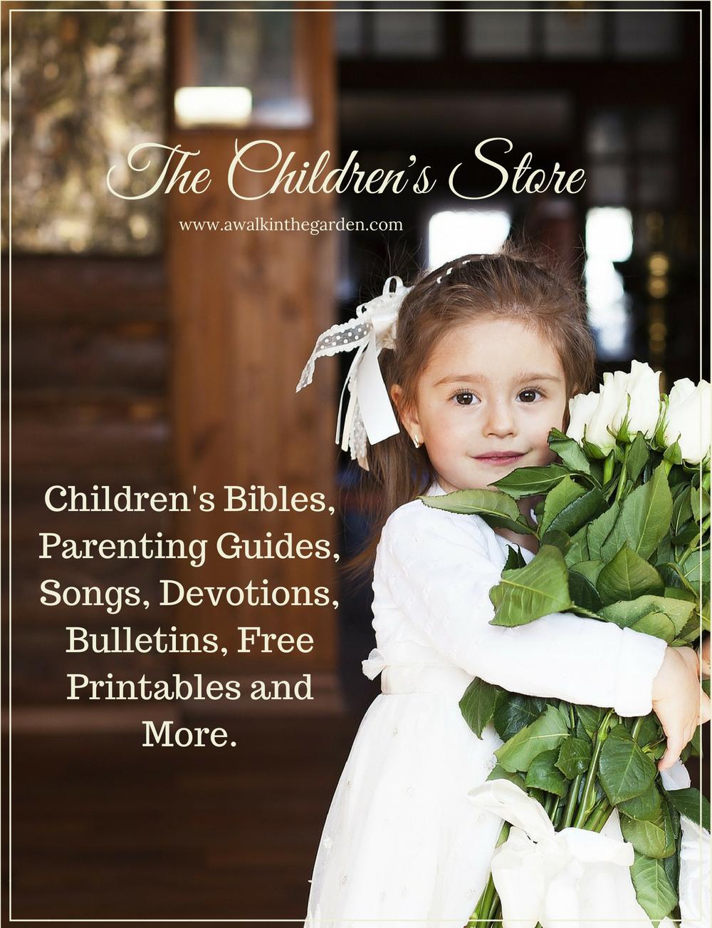 A Walk In The Garden: Children\'s Store