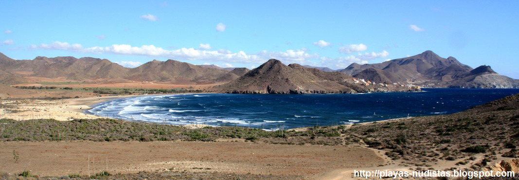 Cabo de Gata hacia Los Genoveses y San José