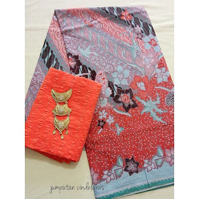 kain-batik-printing-embos-orange