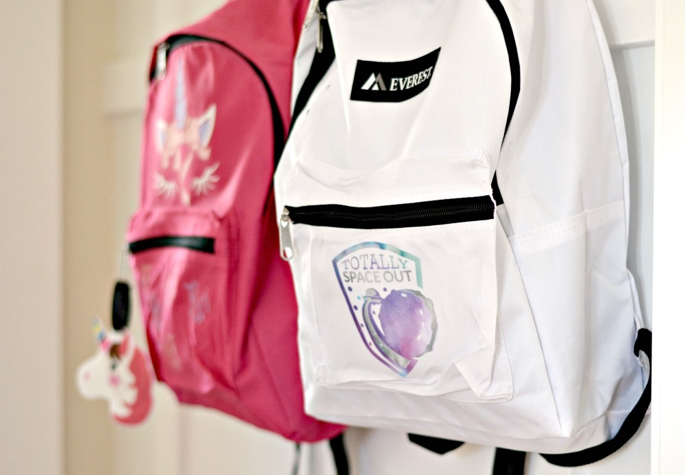handmade backpacks using the cricut