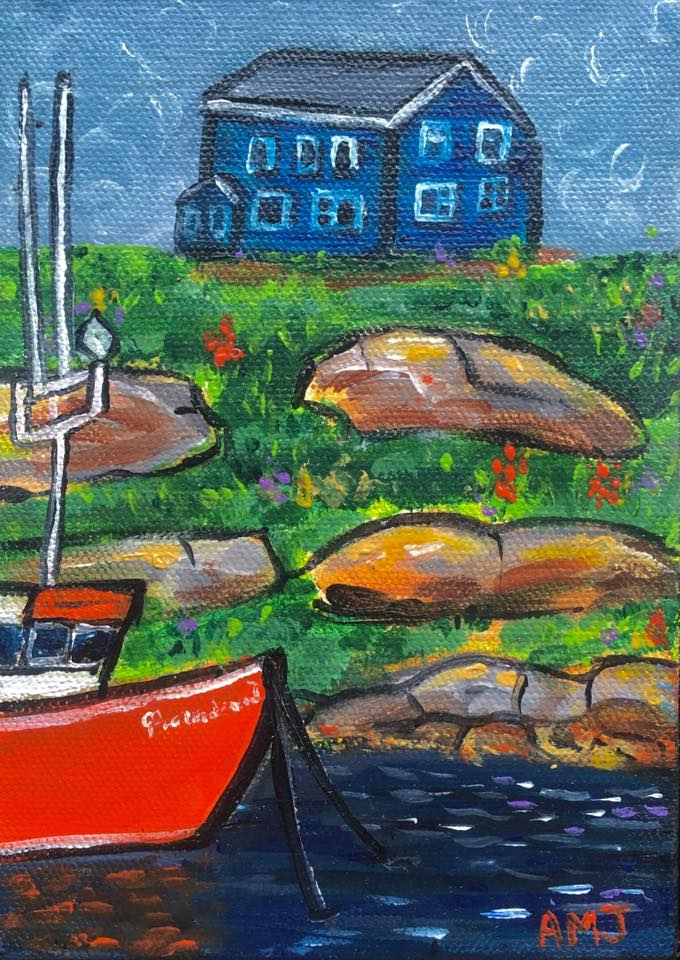 Providence 1 on Peggy's cove - Original Painting