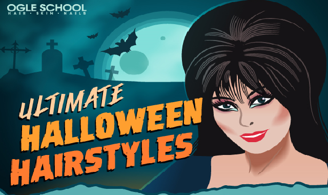 Ultimate Halloween Hairstyles #infographic