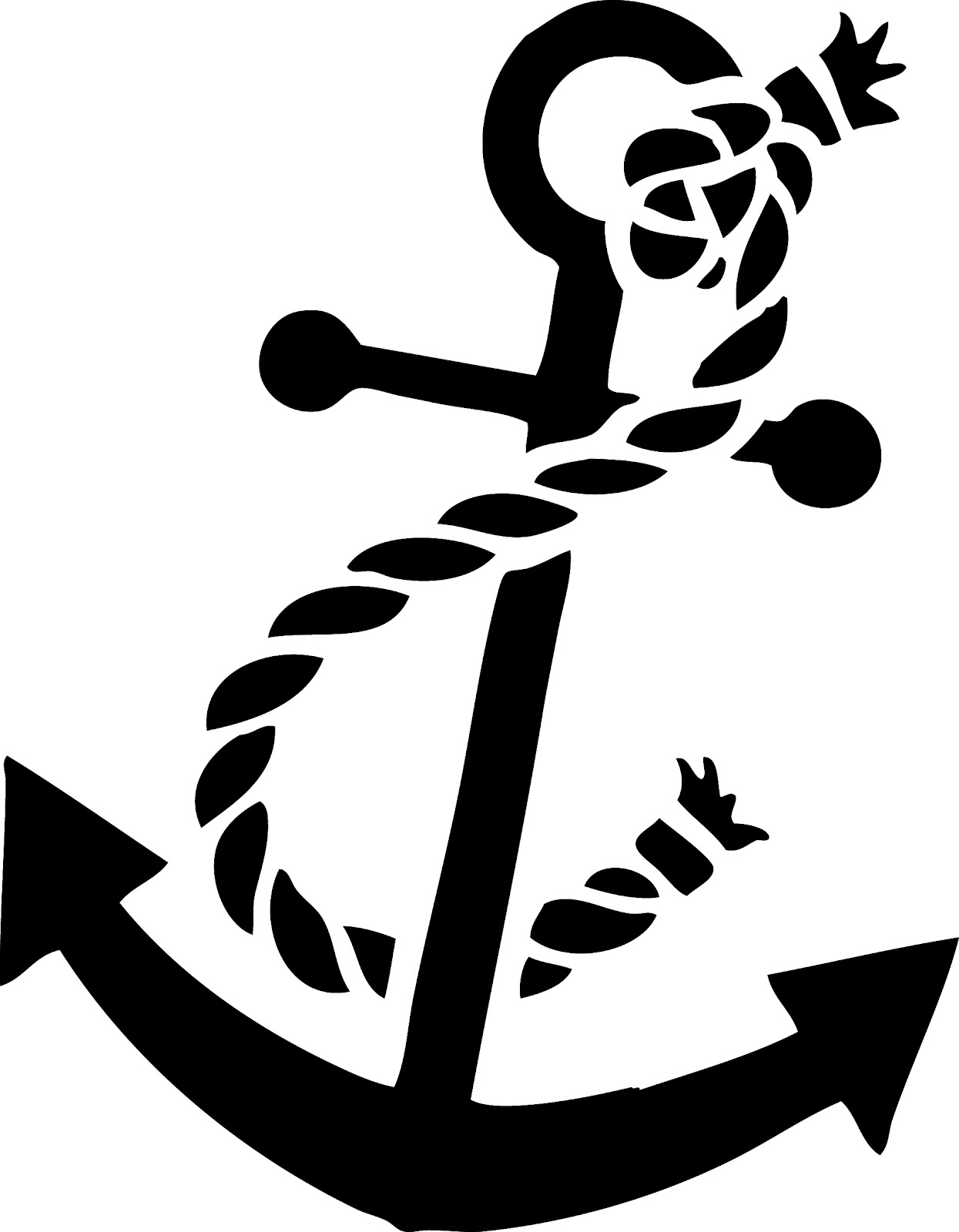 Take Your Picture: Vintage Clip Art - Anchor Silhouette