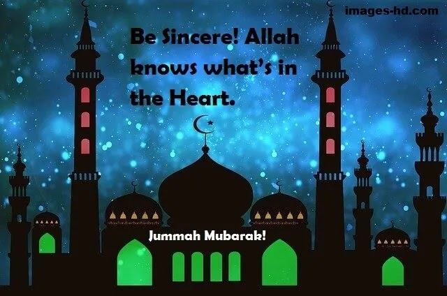 Be sincere always, Allah knows what's in the heart.