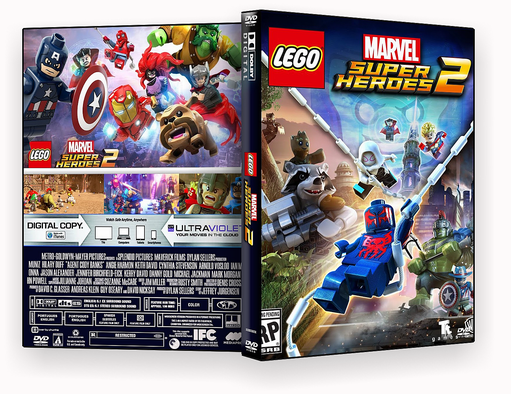 Lego Super Hérois 2018 – ISO – CAPA DVD