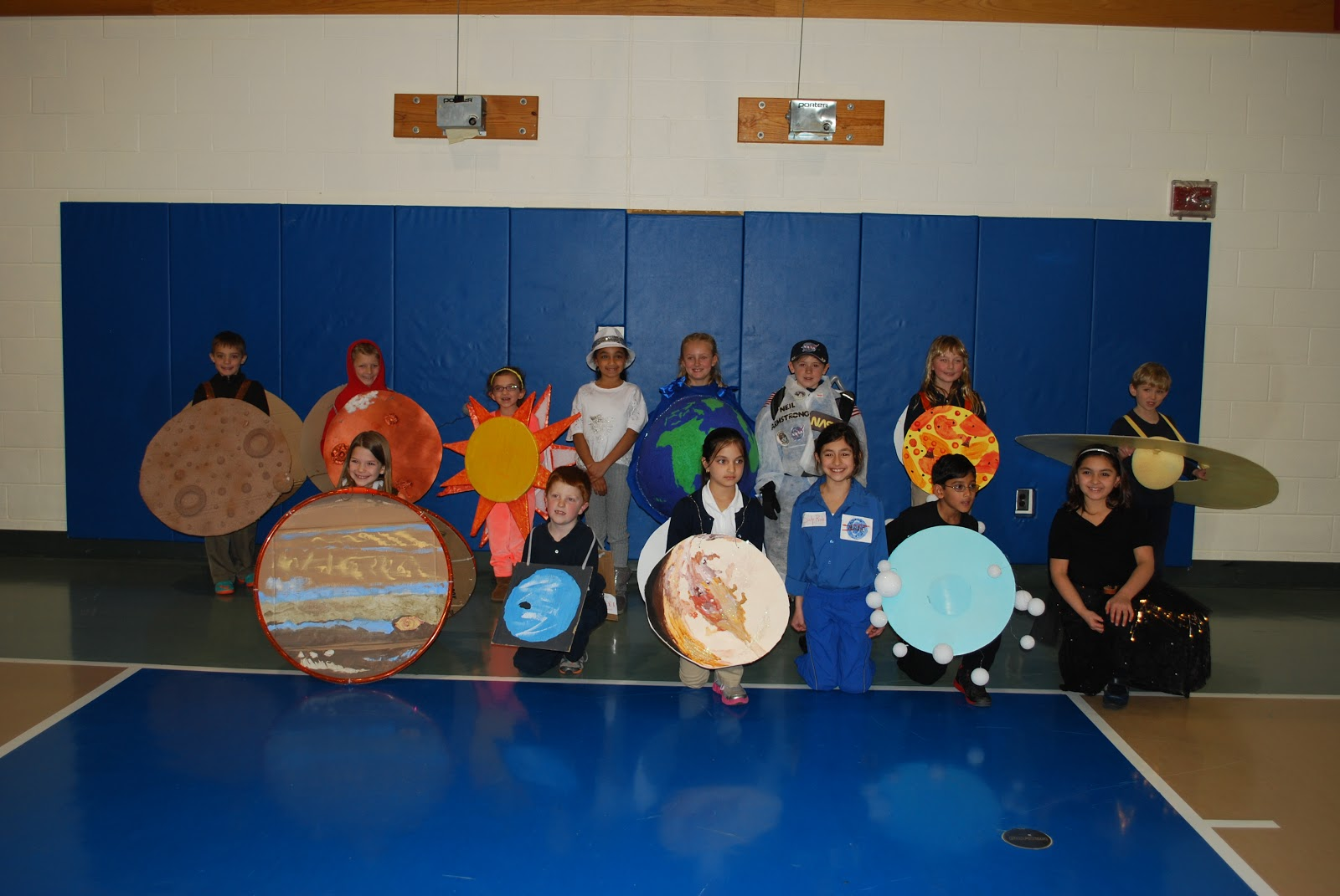 St Anne S News Second Grade Solar System Show