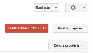 Cara meambahkan Properti di Google search console