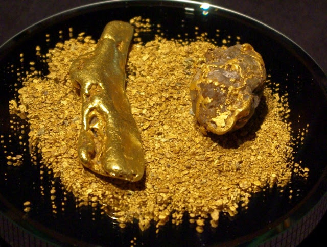 Where Does All Earth's Gold Come From?