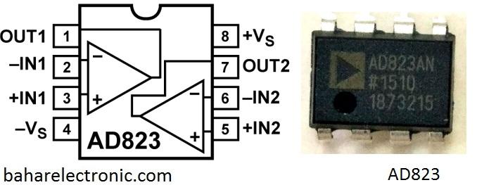 Macam IC Op Amp dan Karakternya - Bahar Electronic