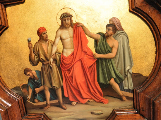 Tenth Station of the Cross: Jesus is Stripped of His Clothes