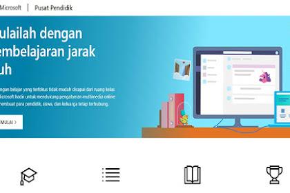Cara Mengubah Bahasa di Micrososft Educator Center Menjadi Bahasa Indonesia