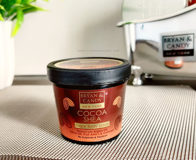 Bryan and Candy New York's Cocoa and Shea Sugar body scrub