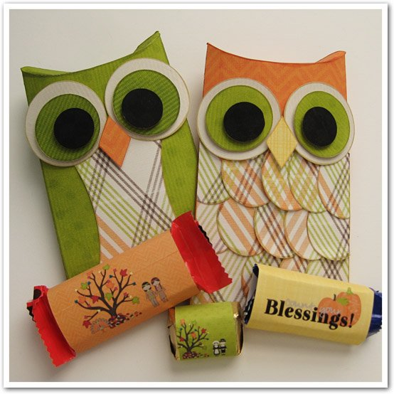 owl pillow box template - doubletrouble scraps fabulously fall