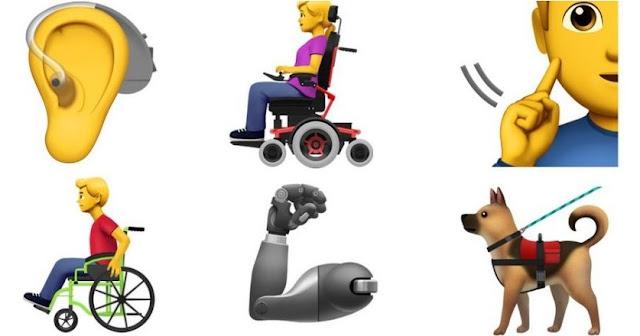 Apple Engelliler İçin Önerdiği 13 Yeni Emoji