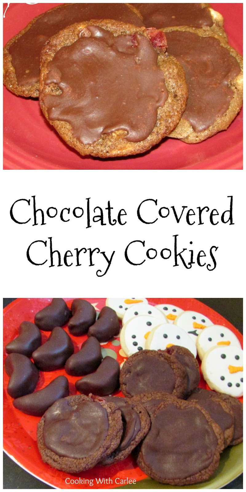 Chocolate Covered Cherry Cookies are sure to be a new favorite cookie ...