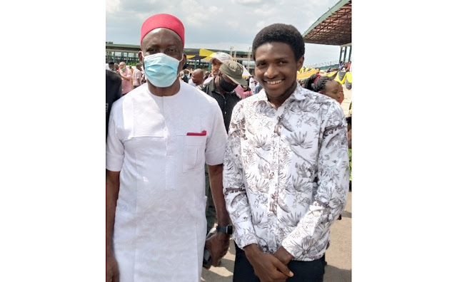 Gov. Obiano's Youngest Aide Congratulate Prof. Soludo On Emerging As Party Guber Candidate
