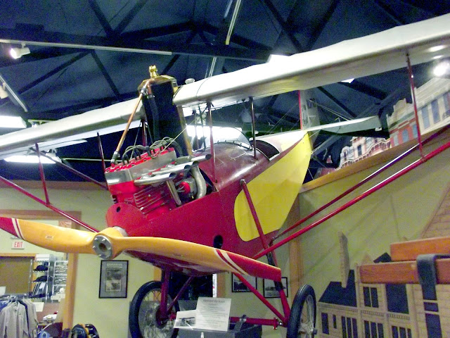 1931 Pietenpol Airplane Powered by a Model T Engine