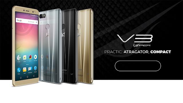 Telefon Android nou: Allview V3 Viper cu aspect 18:9 și Android 8.0 Oreo