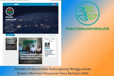 Website Desa Moktesareh