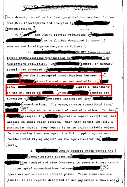 NSA-FOIR-declassified-documents-accept-the-UFO-phenomena