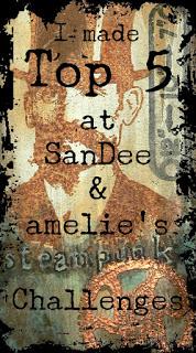 SanDee & amelie's  Steampunk Challenge