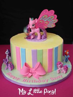 bolos tema my little pony