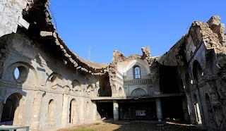 جانب من كنائس العراق المدمرة على يد تنظيم داعش