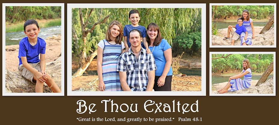 Be Thou Exalted
