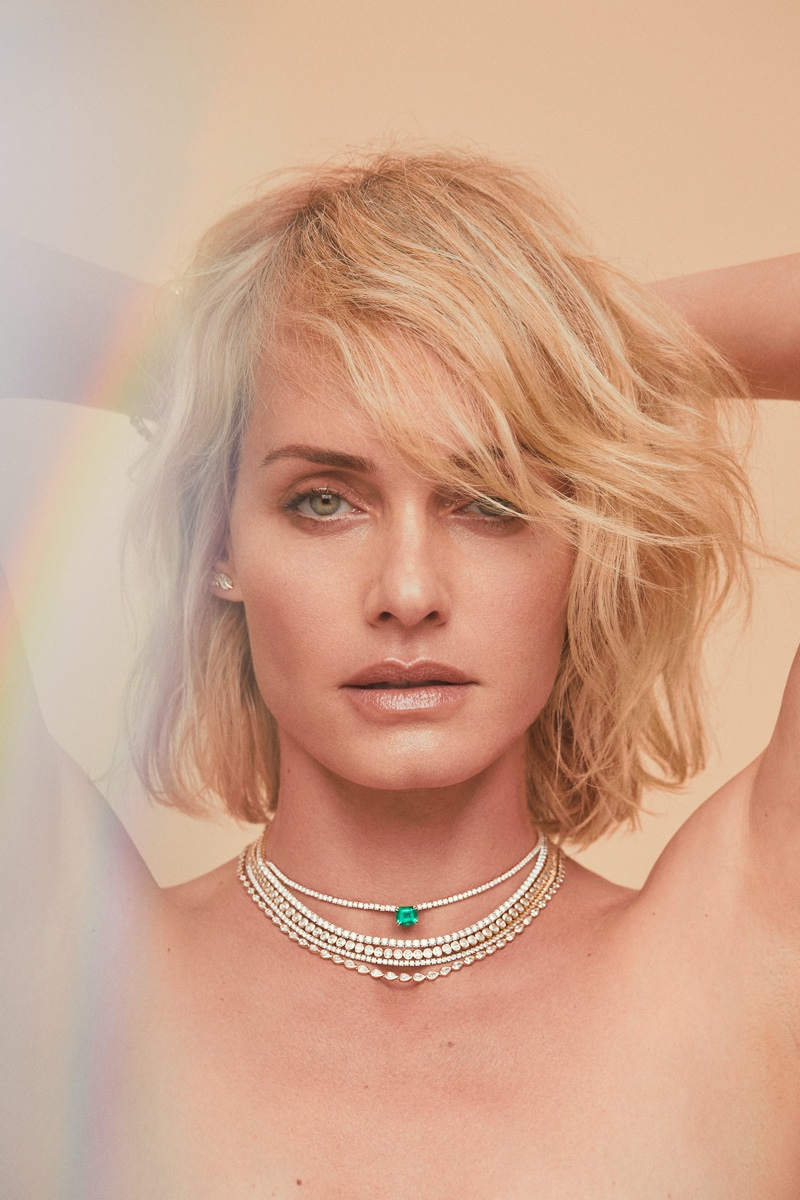 Model Amber Valletta shines for Anita Ko campaign