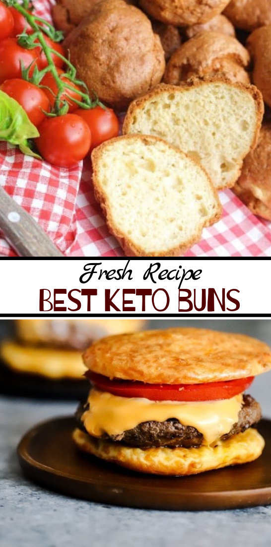 BEST KETO BUNS #healthyfood #dietketo #breakfast #food