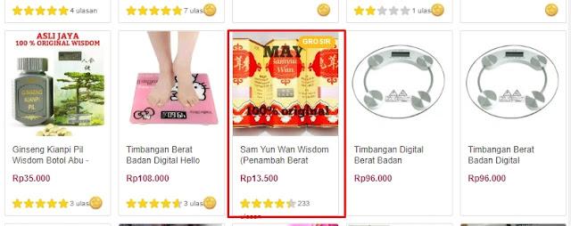 Riset produk yang paling mudah cukup dengan melihatnya di toko-toko online populer. Di situ Anda dapat menemukan produk mana yang banyak diminati.