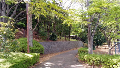 稲城市の城山公園 散歩コース
