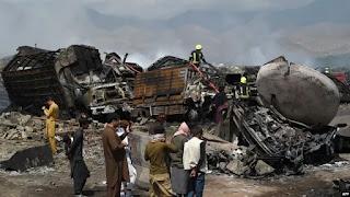 Pemerintah Afghanistan Selidiki Ledakan Tanki BBM di Kabul