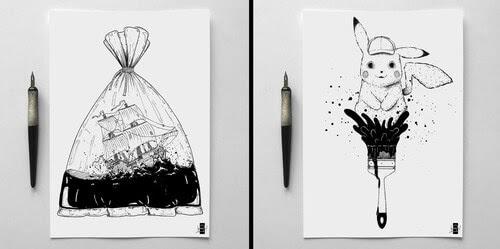 00-Vladimir-Rudoi-Art-Journal-Ink-Drawings-www-designstack-co