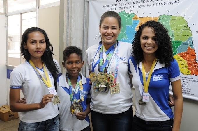 Natal: Atletas da Escola Zila Mamede representam o RN em competição nacional de taekwondo