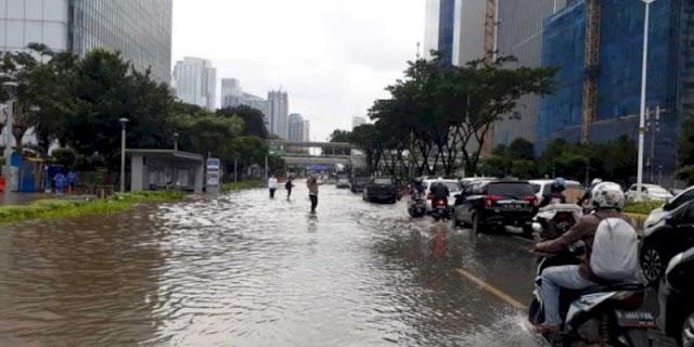 Lippo Menolak Keras Dituding Penyebab Banjir Kemang, Hensat: Santai Aja, Nggak Perlu Ngegas
