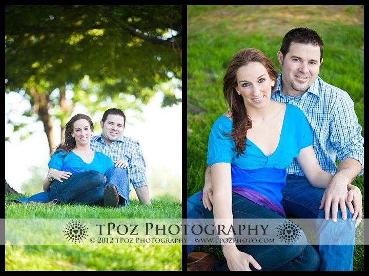 Riverside Park Engagement Photo