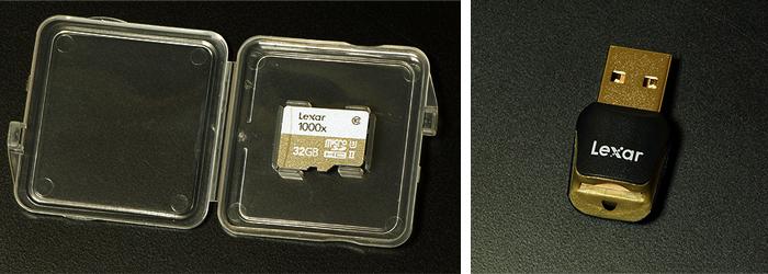 レキサー Lexar microSDHCカード32GB「Professional 1000x」を使った感想レビュー