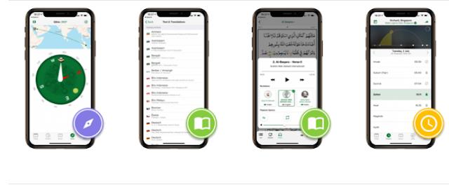 تطبيق مسلم برو بريميوم بدون اعلانات Muslim Pro Premium