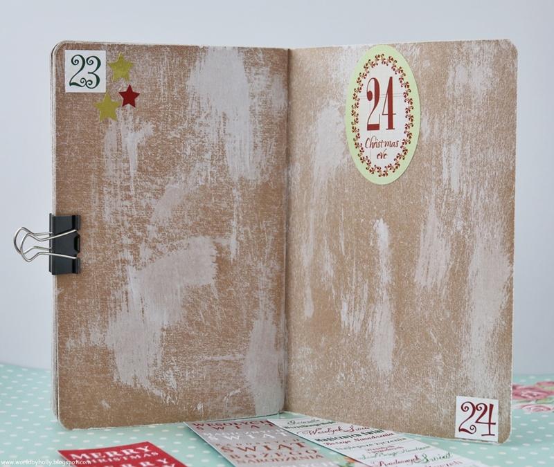 grudniownik, kalendarz adwentowy, pamiętnik grudnia